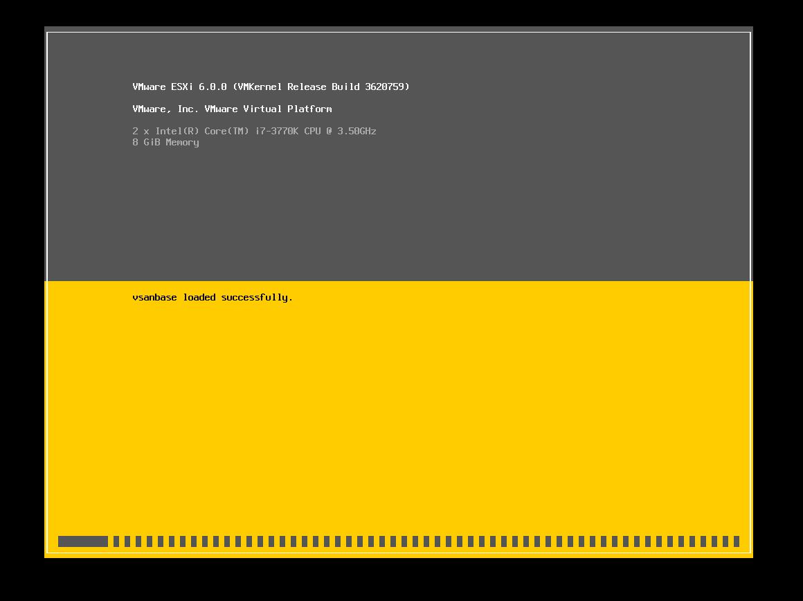 Instalacion de ESXi 6.0