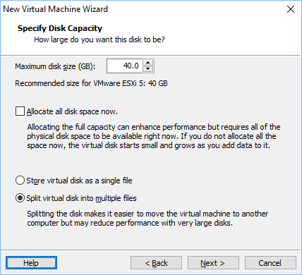 Configurando vmware vm 11
