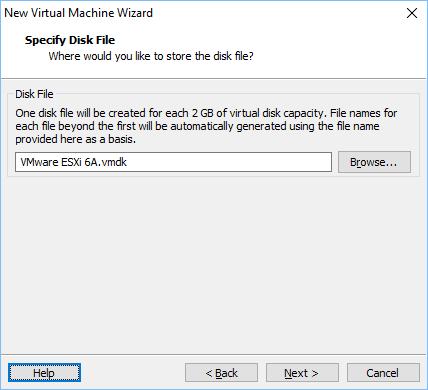 Configurando vmware vm 12