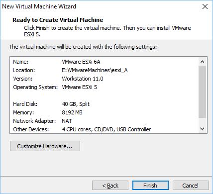 Configurando vmware vm 13