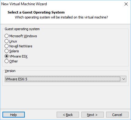Configurando vmware vm 4