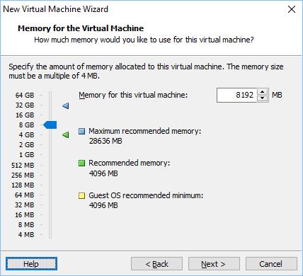 Configurando vmware vm 6