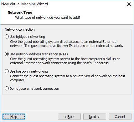 Configurando vmware vm 7