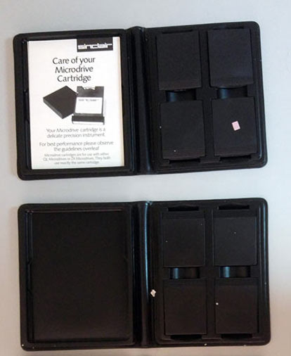 sinclair ql microdrives