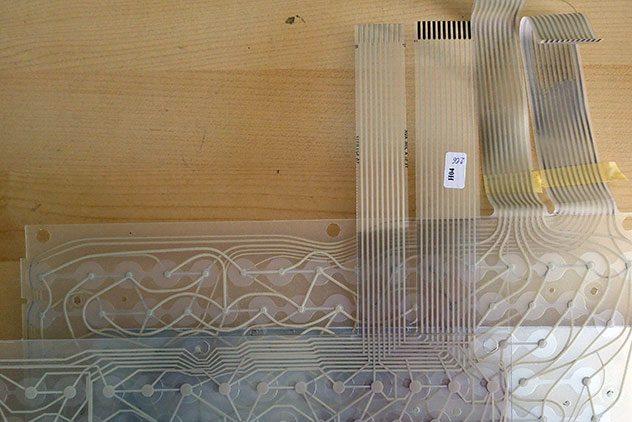 sinclair ql membranas del teclado comparadas